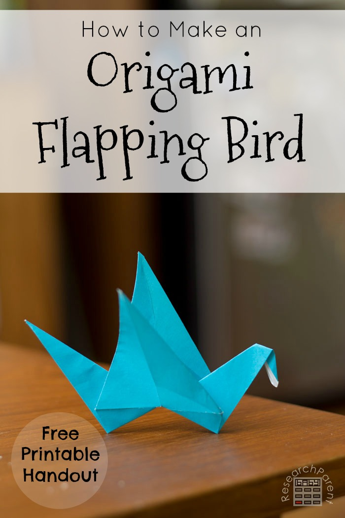 How to make a Paper Bird: Easy Origami Paper Bird Instructions | 1050x700
