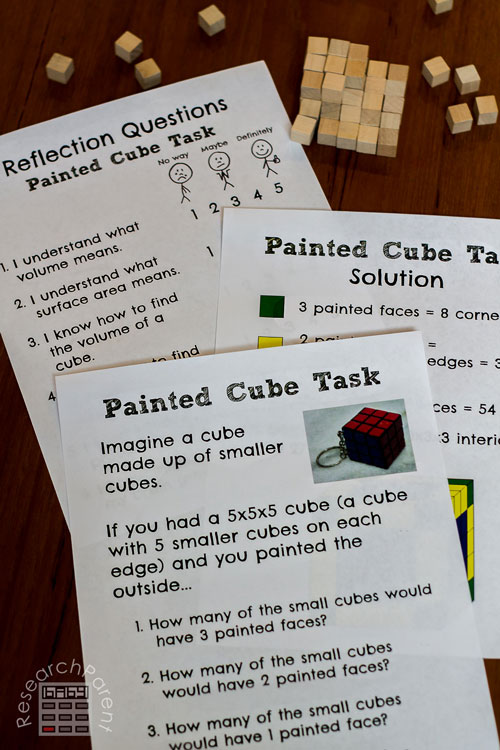 Painted Cube Task
