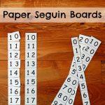 Montessori Paper Seguin Boards