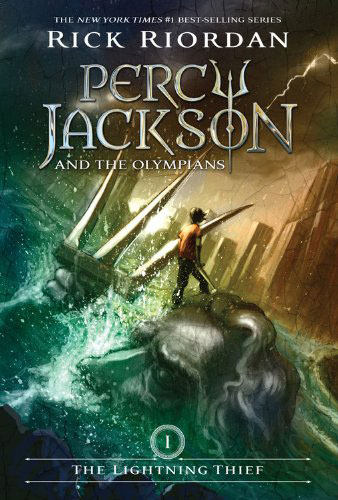 Percy Jackson and the Olympians by Rick Riordan