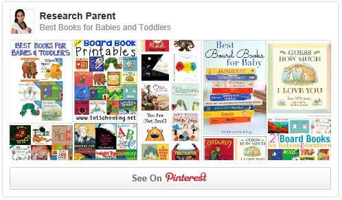 Best Books for Babies and Toddlers Pinterest Board