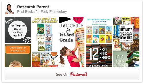 Best Books for Early Elementary Pinterest Board