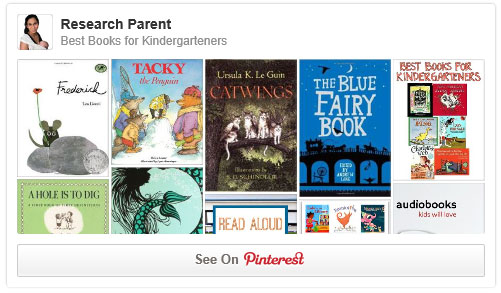 Best Books for Kindergarteners Pinterest Board