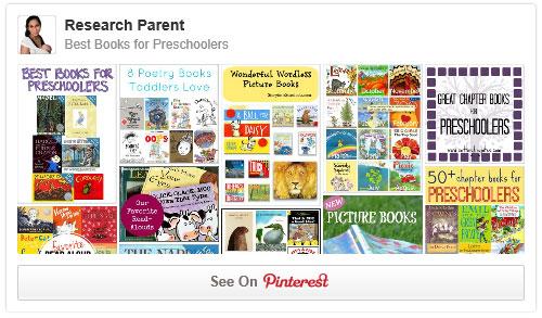 Best Books for Preschoolers Pinterest Board