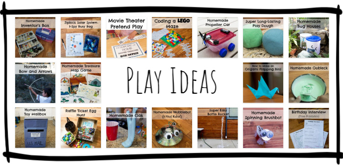 Play Ideas for Kids