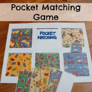 Pocket Matching Game