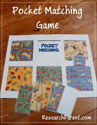 Pocket Matching Game by ReseachParent.com