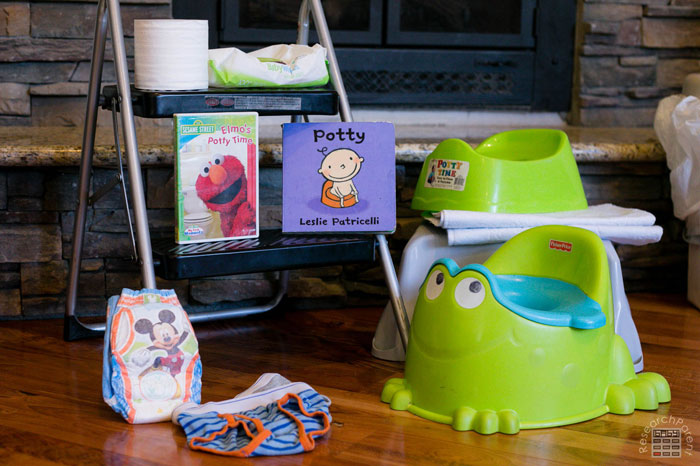 Potty Training Supplies for Kids Under Age 2