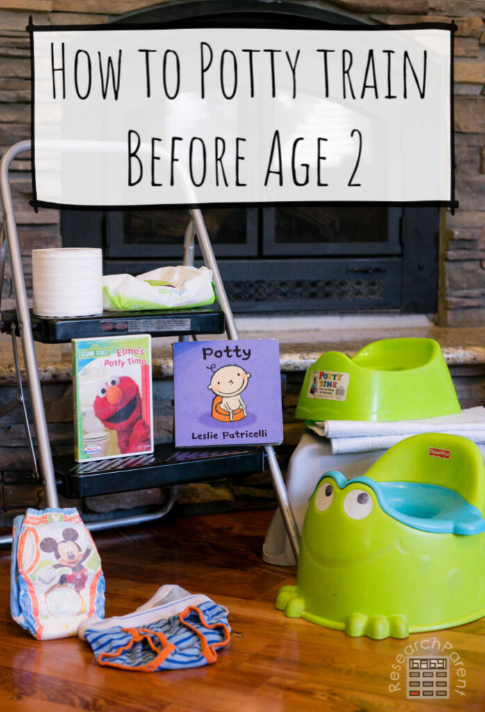 How to Potty Train Before Age 2