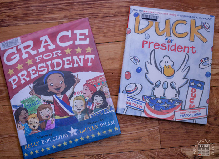 Presidential Election Picture Books