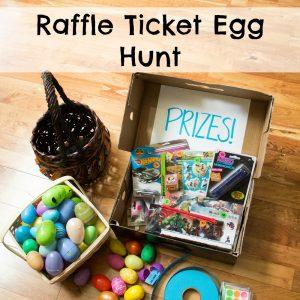 Raffle Ticket Egg Hunt