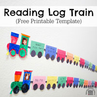 Reading Log Train