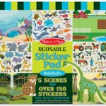 Best Travel Toys: Reusable Sticker Pads
