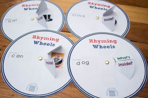 Rhyming Wheels Complete Set