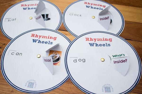 Rhyming Wheels Complete Set