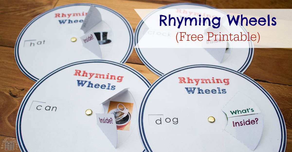Rhyming Wheels by ResearchParent.com