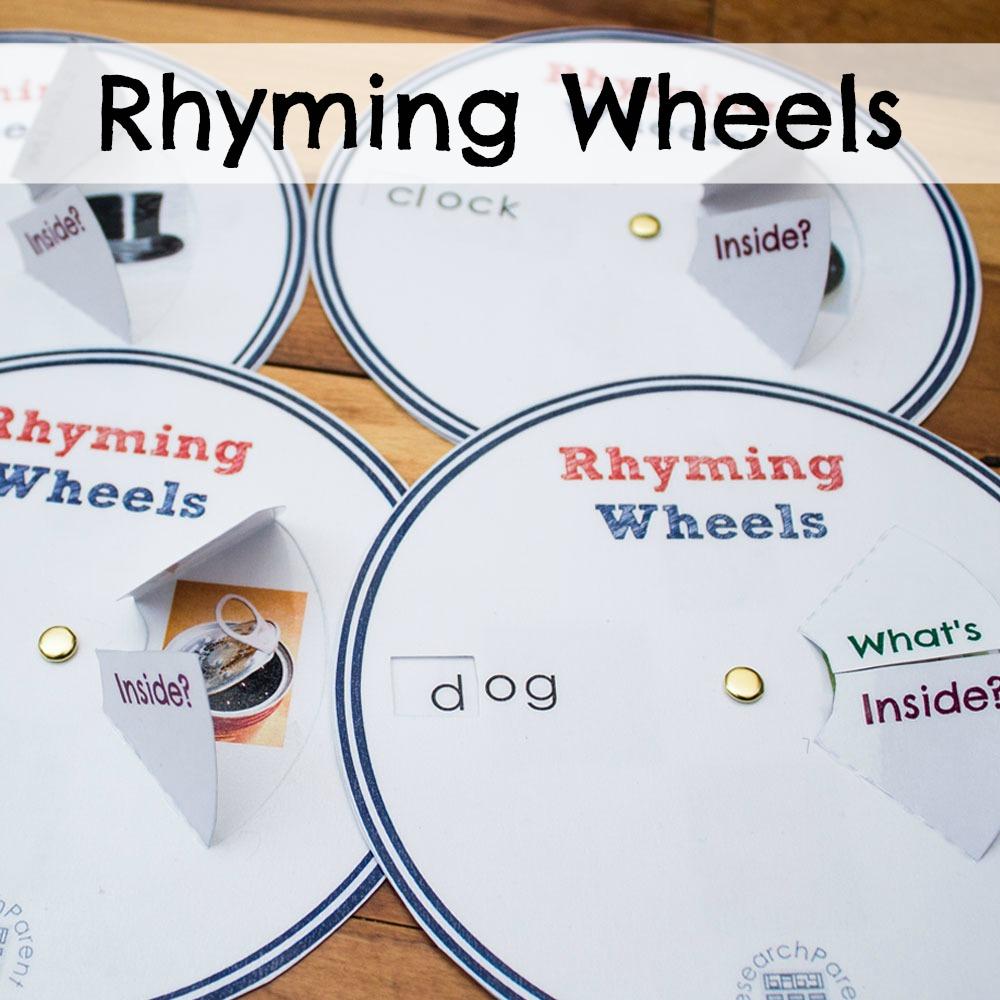 Rhyming Wheels Researchparent Com