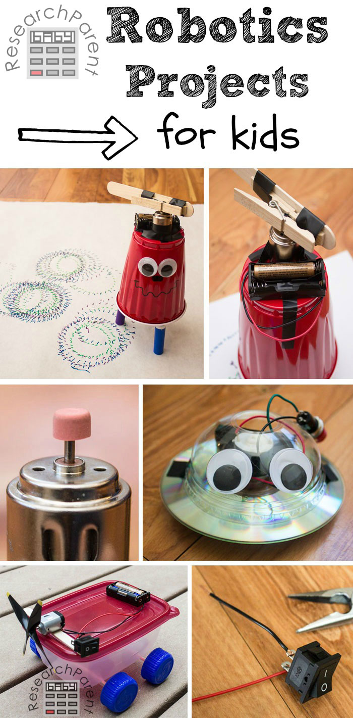Free Robotic Projects And Ideas Homeschool Giveaways
