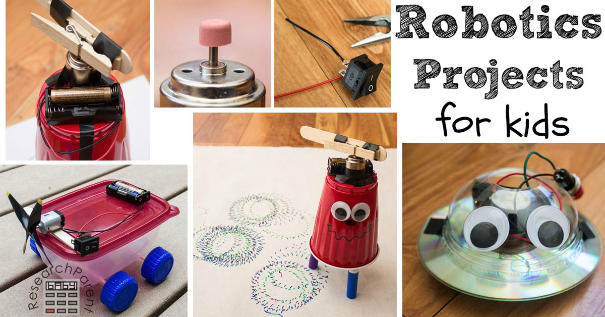 Easy Robotics Projects For Kids Researchparent Com