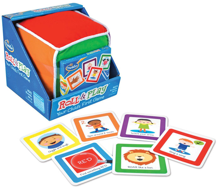Roll and Play Your Child's First Game