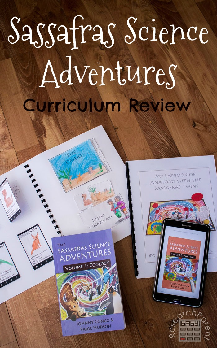 Sassafras Science Adventures Curriculum Review by Elemental Science