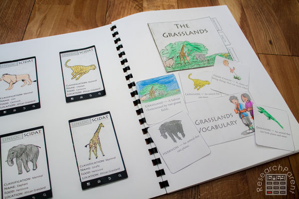 Sassafras Zoology Interactive Notebook