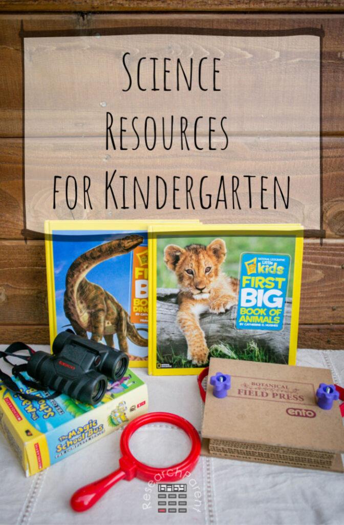 Science Resources for Kindergarten