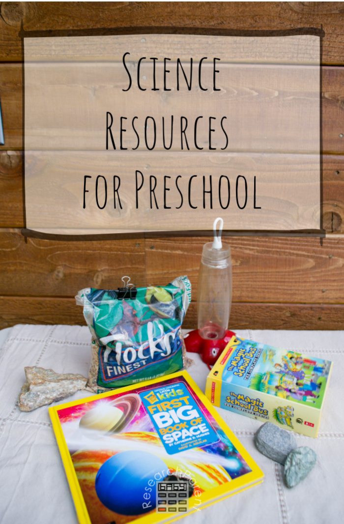 Science Resources for Preschool