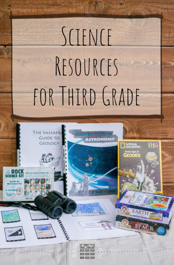 Science Resources for Third Grade