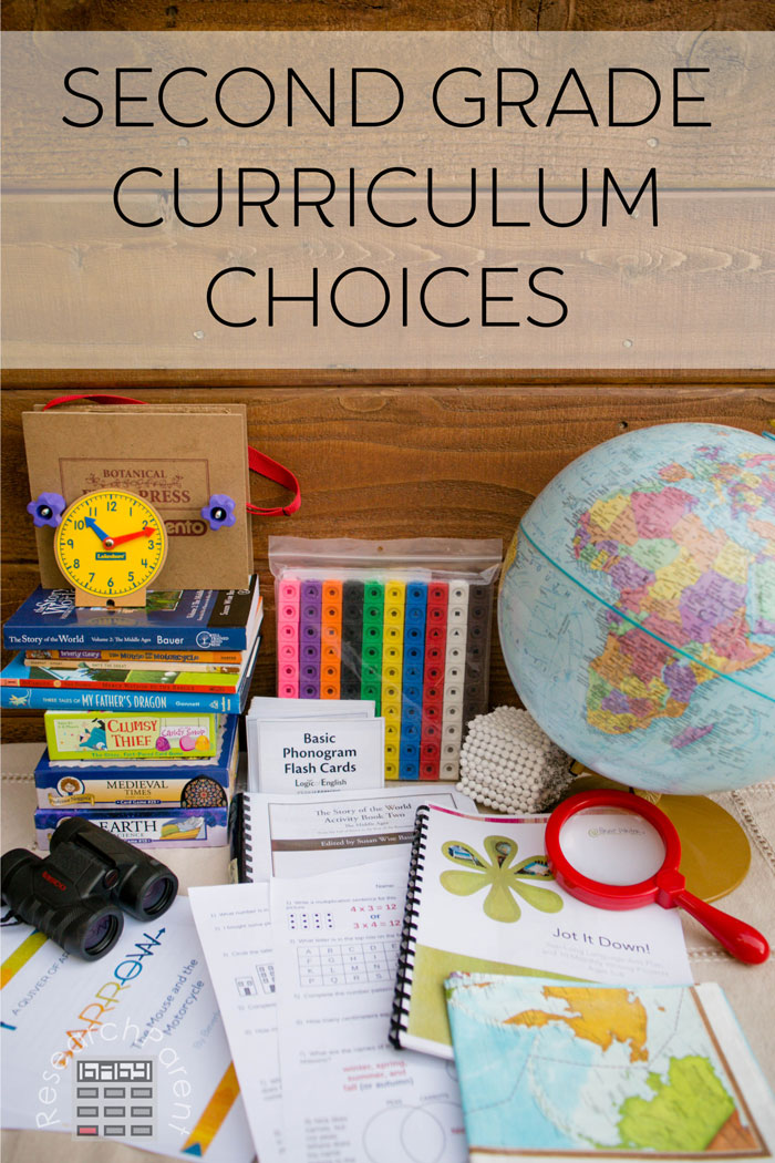 Second Grade Curriculum Choices