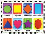 Shapes Puzzle by Melissa & Doug