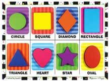 Shape Puzzle by Melissa & Doug