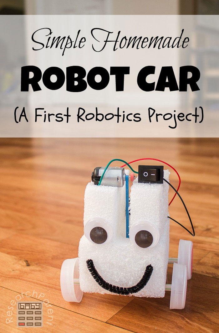 Simple Homemade Robot Car