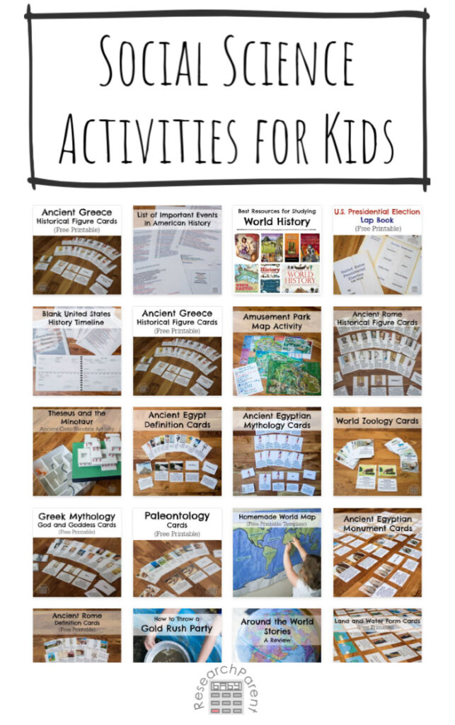 Social Science Activities for Kids