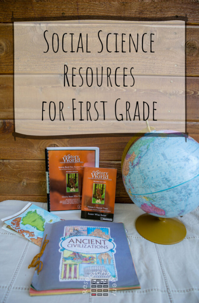 Social Science Resources for First Grade