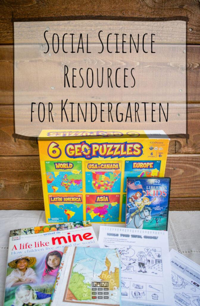 Social Science Resources for Kindergarten