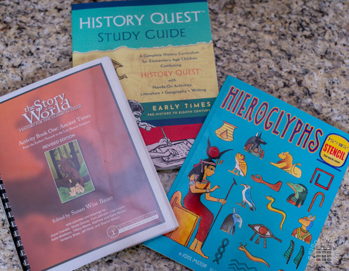 Books we Used for Hieroglyphs