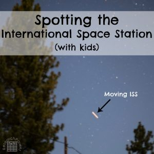 Spotting the International Space Station with Kids