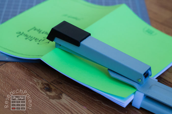 Staple together Gratitude Journal for Kids