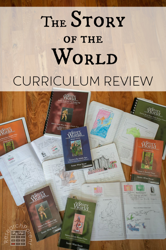 The Story of the World Curriculum Review