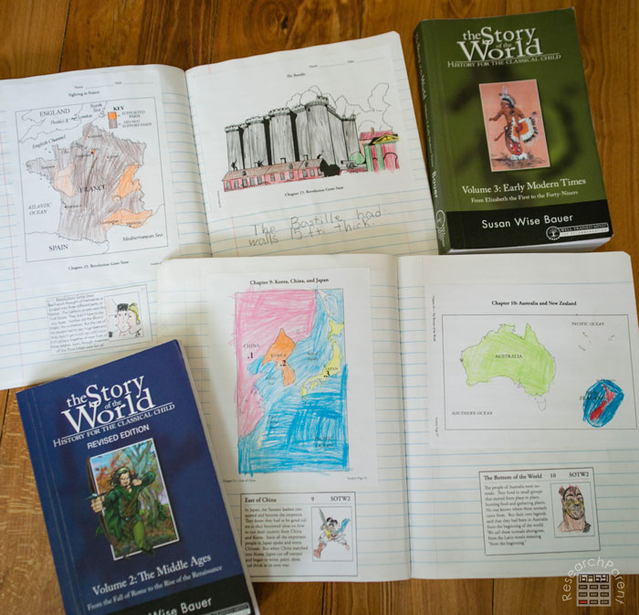Story of the World Volumes 2 and 3