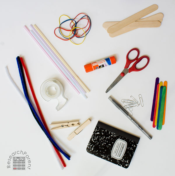 Supplies for Inventor's Box