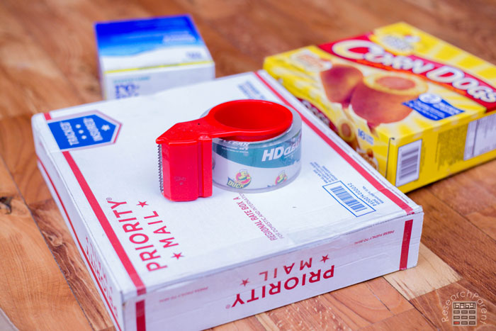 Tape up Boxes