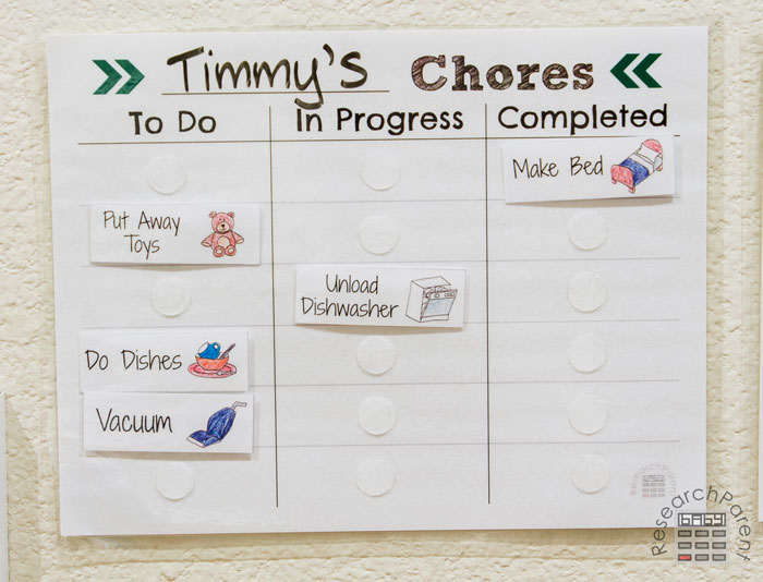 Timmy's Chores