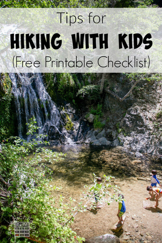 Tips for Hiking with Kids (Including Free Printable Checklist)