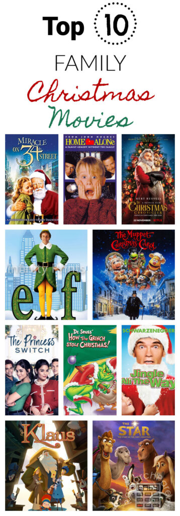 Top 10 Family Christmas Movies