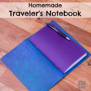 Homemade Traveler's Notebook