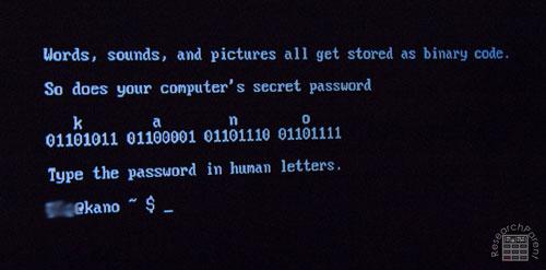 Type the password