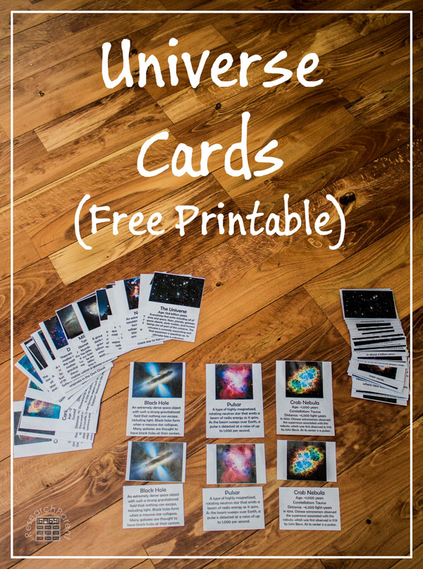 Universe Cards by ResearchParent