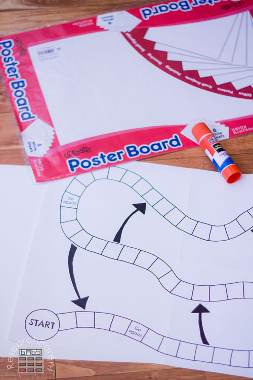 Find a piece of poster board
